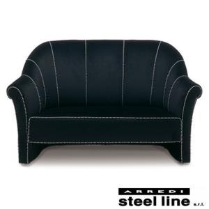 [サイズ]W158×D82×H92cm [素材]ベルベット、ビーチ無垢材 [生産地]Made in ...
