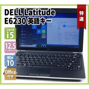 DELL Latitude E6230 希少英語キー 12.5型ワイド Office付き(Core-i5 2.7G / 4GBメモリ / 250GBハードディスク / 無線LAN内蔵 / Webカメラ / Windows10 64bit)|genel