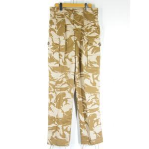 デッド イギリス軍 トロピカル デザートカモ コンバット パンツ Size 85/84/100|generag
