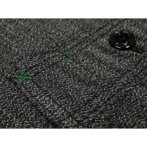 シャンブレーシャツ - 撚り杢 ブラックシャンブレー (ワンウォッシュ)|generag|06