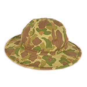 ダックハンター カモフラージュ柄 ハット (ワンウォッシュ) - USMC Duck Hunter Camo Hat (ONE-WASH)|generag
