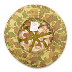 ダックハンター カモフラージュ柄 ハット (ワンウォッシュ) - USMC Duck Hunter Camo Hat (ONE-WASH)|generag|03