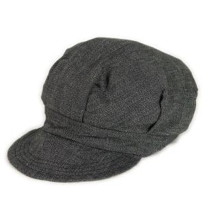 ブラックシャンブレー ワークキャップ(ワンウォッシュ) - Work Cap Black chambley (ONE-WASH)|generag