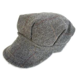 ツイード ワークキャップ グレイ - Work Cap Gray Tweed|generag