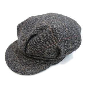 ツイード ワークキャップ ブラウン - Work Cap Brown Tweed|generag