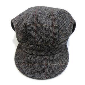 ツイード ワークキャップ ブラウン - Work Cap Brown Tweed generag 02