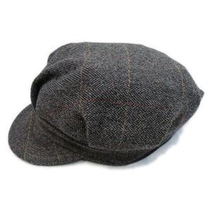 ツイード ワークキャップ ブラウン - Work Cap Brown Tweed generag 03