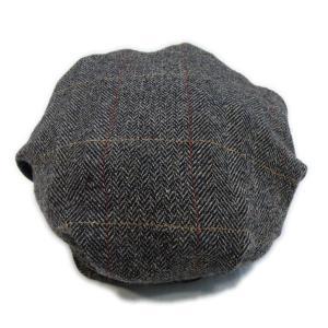ツイード ワークキャップ ブラウン - Work Cap Brown Tweed generag 04