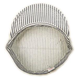 ヒッコリーストライプ ワークキャップ(ワンウォッシュ) - Work Cap Hickory Stripe (ONE-WASH)|generag|05