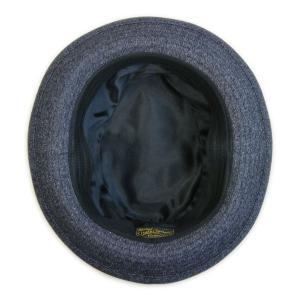 ブラックシャンブレー センターデント ハット(ノンウォッシュ) - Black chambley Center dent Hat(NON-WASH)|generag|04