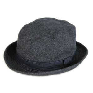 ブラックシャンブレー センターデント ハット(ワンウォッシュ) - Black chambley Center dent Hat (ONE-WASH)|generag