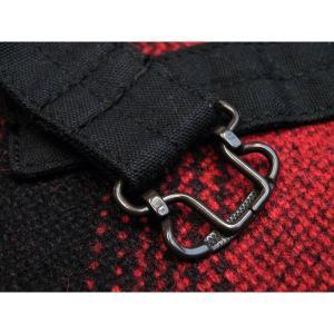 ウールベスト オンブレチェック - Onbre check Wool Work vest(Red check) generag 04