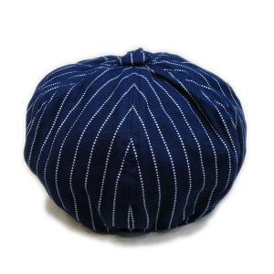 ウォバッシュ キャスケット(ワンウォッシュ) - Casquette Wabash Stripe (ONE-WASH) generag 03