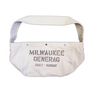 ニュースペーパーバッグ(ワンウォッシュ) - Newspaper Bag (ONE-WASH)|generag
