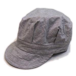 グレーシャンブレー ワークキャップ(ワンウォッシュ) - Work Cap Gray chambley (ONE-WASH)|generag