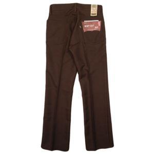 デッドストック リーバイス 517 ブーツカットパンツ ブラウン|generag