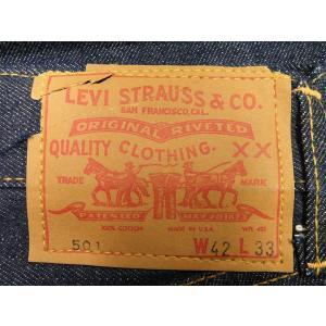 60's デッドストック リーバイス LEVIS 501 BIGE W42×L33 #01 generag 02