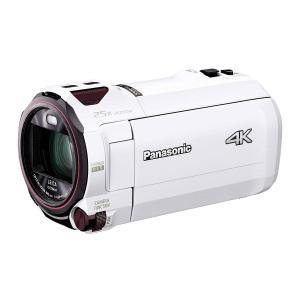 パナソニック 4K ビデオカメラ VZX990M 64GB あとから補正 ホワイト HC-VZX99...