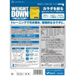 Kentai ウェイトダウン ソイプロテイン 甘さ控えめバナナ風味 350g|general-purpose