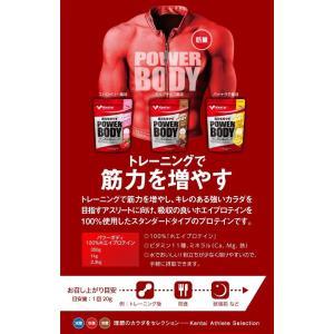 Kentai パワーボディ100%ホエイプロテイン ストロベリー風味 1kg|general-purpose