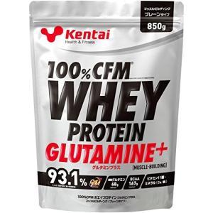 Kentai 100%CFMホエイプロテイン グルタミンプラス プレーンタイプ 850g|general-purpose