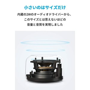 Anker Soundcore Ace A0 (2W 超コンパクト Bluetooth 4.2 スピ...