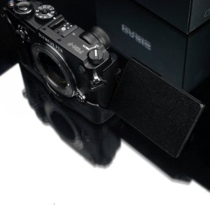 GARIZ OLYMPUS PEN-F用 本革カメラケース HG-PENFBK ブラック