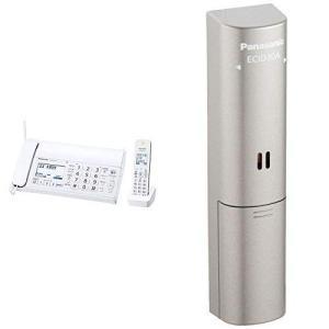 パナソニック おたっくす デジタルコードレスFAX 子機1台付き 1.9GHz DECT準拠方式 ホワイト KX-PD215DL-W + ド|general-purpose