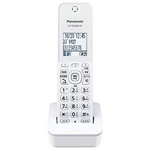 パナソニック おたっくす デジタルコードレスFAX 子機1台付き 1.9GHz DECT準拠方式 ホワイト KX-PD215DL-W|general-purpose