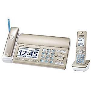 パナソニック おたっくす デジタルコードレスFAX 子機1台付き 迷惑電話対策機能搭載 シャンパンゴールド KX-PD725DL-N|general-purpose