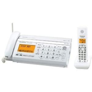 パナソニック おたっくす デジタルコードレスFAX 子機1台付き ホワイト KX-PW320DL-W|general-purpose