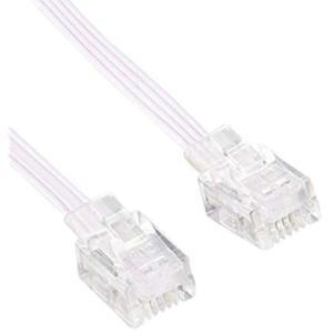 オーム電機 モジュラケーブル 3M ストロングコード TP-3415|general-purpose