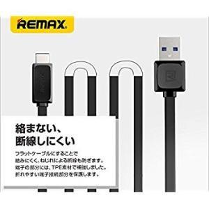 REMAX(リマックス) Fast Data Cable Type-c ケーブル 1m RC-FDc (ブラック) RC-FDc-BK|general-purpose
