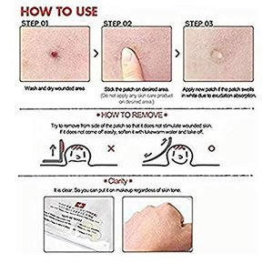 3M Nexcare Blemish Clear Cover Easy Peel 32+32Patc...