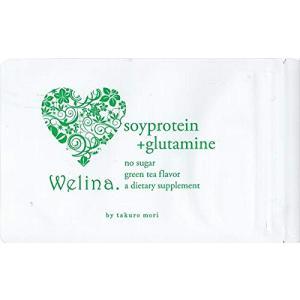 ウェリナ ソイプロテイン+グルタミン 抹茶味 15g|general-purpose