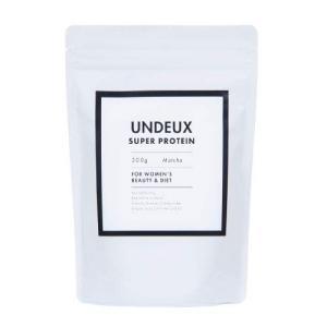 UNDEUX (アンドゥ) ソイプロテイン抹茶味 (300g) 「高品質大豆プロテインが主原料」 「筋肉を落とさずダイエット」女性のダイエッ|general-purpose