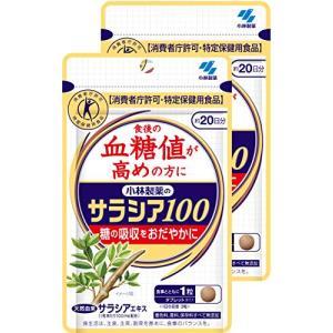 まとめ買い小林製薬のサラシア100 食後の血糖値が高めの方に(特定保健用食品) 約20日分 60粒×2コ|general-purpose