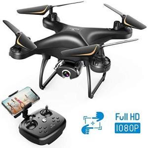 SNAPTAIN ドローン カメラ付き 1080P HD 120°広角カメラ 200g未満 最大24分飛行時間 WIFI FPVリアルタイム|general-purpose