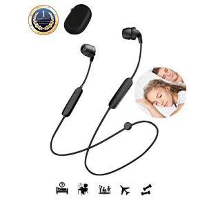 ワイヤレス イヤホン bluetooth 寝ホン ipad iphone イヤホン 2020年特注更新版 収納ケース 付き 寝ながら使っても|general-purpose