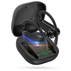 Gouler Bluetooth イヤホン最新耳掛け式 Bluetooth5.0完全ワイヤレス スポーツ イヤホン HiFi高音質 自動オン|general-purpose