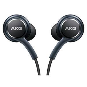 Samsung ブラック AKG イヤホン ヘッドホン ヘッドセット ハンズフリー Samsung Galaxy S8 & S8+|general-purpose