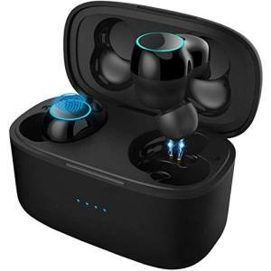 2020最新版 ワイヤレスイヤホン Bluetooth 5.0 瞬間接続 Bluetooth イヤホン Hi-Fi 高音質 タッチ ワイヤレ|general-purpose