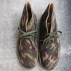 CESMONY(チェスモーニ) カモフラ チャッカブーツ メンズ 靴|generalstore-y