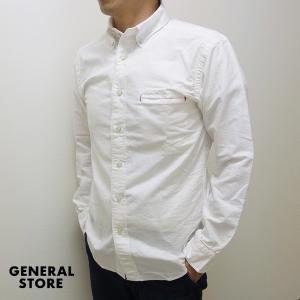 シャツ ボタンダウン GENERAL STORE メンズ 両玉縁ポケット B.D.シャツ|generalstore-y