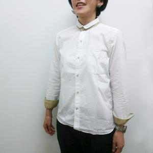 GENERAL STOREミニ丸小衿タイプライターシャツ(レディース)|generalstore-y