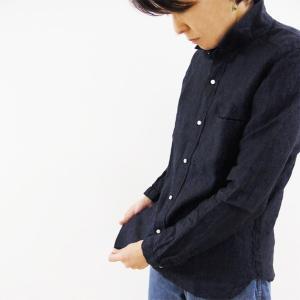 GENERAL STORE ORIGINAL 小衿玉縁ポケット リネンシャンブレーシャツ|generalstore-y