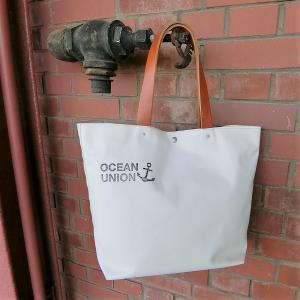 全4色 横浜帆布鞄 × OCEAN UNION  ボート トート バッグ 送料無料|generalstore-y