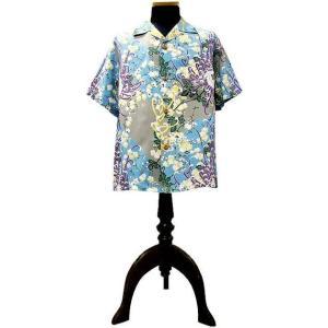 SUN SURF (サンサーフ) アロハシャツ ROYAL FLOWER(ロイヤルフラワー)GRAY|generalstore-y