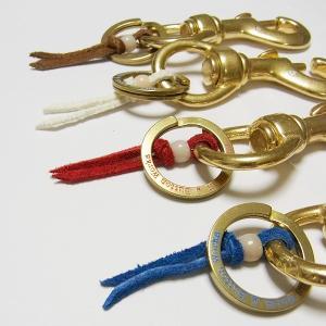 メール便 送料無料 キーホルダー ブランド BUTTON WORKS (ボタンワークス)フック NEW KEYHOLDER 真鍮|generalstore-y
