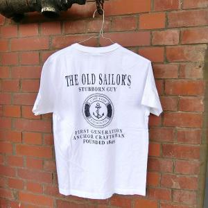 メール便送料無料 THE OLD SAILOR'S ヘンリーネック マリン Tシャツ   ユニセックス|generalstore-y